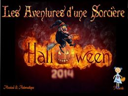 diaporama pps Halloween rouge 2014