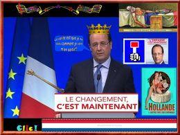 diaporama pps Hollande et ses femmes
