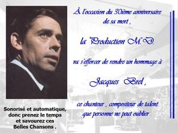diaporama pps Hommage à Jacques Brel