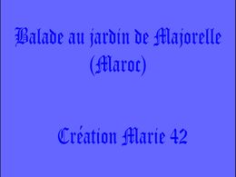 diaporama pps Jardin de Majorelle