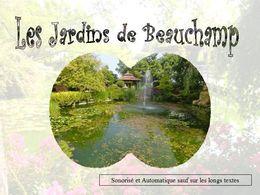 diaporama pps Jardins de Beauchamp