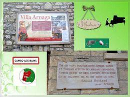 diaporama pps Jardins de la villa Arnaga