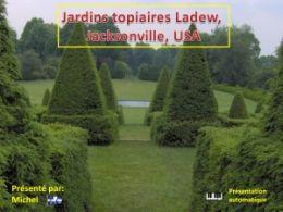diaporama pps Jardins topiaires Ladew Jacksonville USA