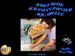 diaporama pps Josef Kote 1964 albanian painter
