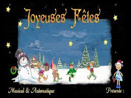 diaporama pps Joyeuses fêtes fin d'année 2014