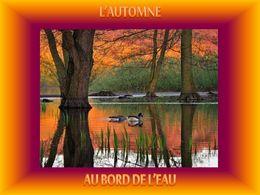 diaporama pps L'automne au bord de l'eau