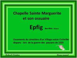 diaporama pps Chapelle Ste Marguerite et son ossuaire