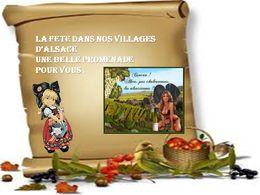 diaporama pps La fête des vins dans notre belle Alsace