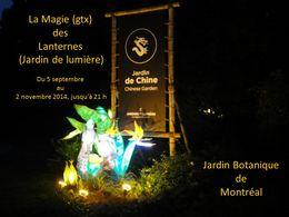 diaporama pps La magie des lanternes 2014