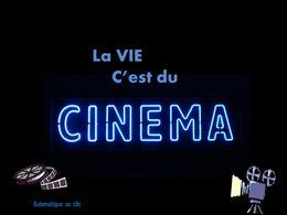 diaporama pps La vie c'est du cinéma