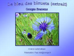 diaporama pps Le bleu des bleuets