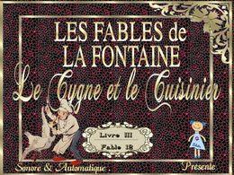 diaporama pps Le cygne et le cuisinier – La Fontaine