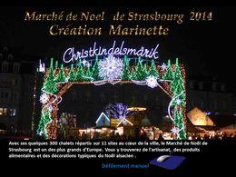 diaporama pps Marché de Noël de Strasbourg 2014