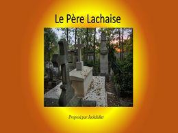 diaporama pps Le père Lachaise