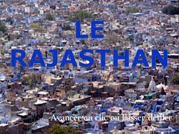 diaporama pps Le Rajasthan 1ère partie
