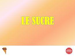 diaporama pps Le sucre