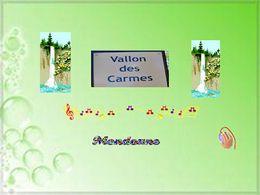 diaporama pps Le vallon des carmes