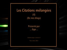 diaporama pps Les citations mélangées de mes blogs 4