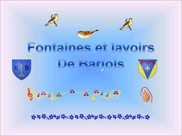 diaporama pps Les fontaines et lavoirs de Barjols