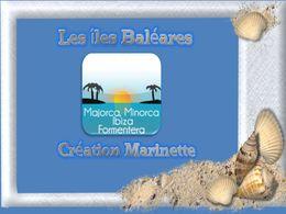 diaporama pps Les îles Baléares