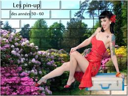 les pin up des ann es 50 60. Black Bedroom Furniture Sets. Home Design Ideas