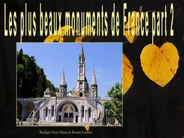 diaporama pps Les plus beaux monuments de France part 2