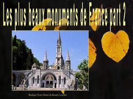 diaporama pps Les plus beaux monuments de France part 2