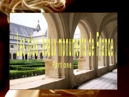 diaporama pps Plus beaux monuments de France 1