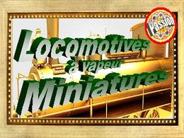 diaporama pps Locomotives vapeur miniatures