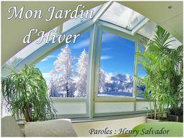diaporama pps Mon jardin d'hiver