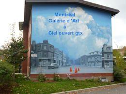 diaporama pps Montréal galerie d'art