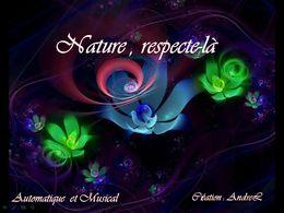 diaporama pps Nature respecte la