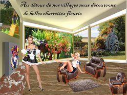 diaporama pps Nos villages et leurs charettes fleuries