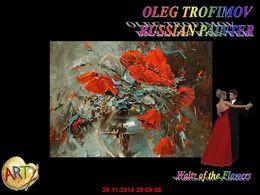 diaporama pps Oleg Trofimov 1962 russian painter