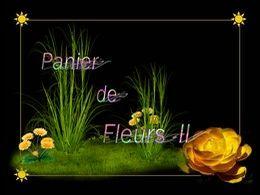diaporama pps Panier de fleurs II