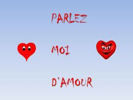 diaporama pps Parlez moi d'amour