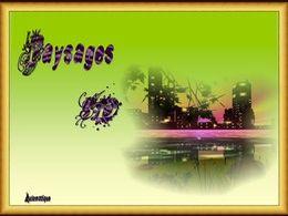 diaporama pps Paysages 3D