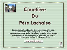 diaporama pps Père Lachaise