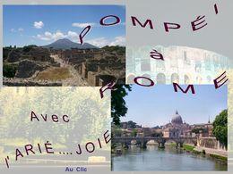 diaporama pps Pompeï à Rome