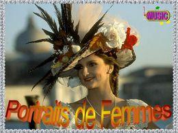 diaporama pps Portraits de femmes
