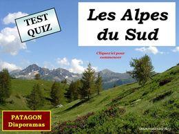 diaporama pps Quiz Alpes du Sud