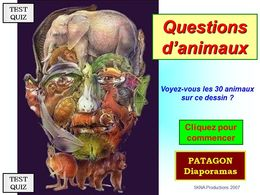 diaporama pps Quiz animaux