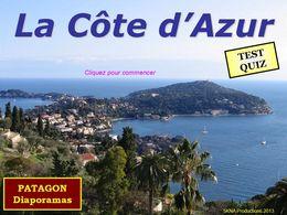 diaporama pps Quiz côte d'Azur
