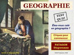 diaporama pps Quiz géographie