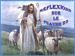 diaporama pps Réflexions sur le psaume 23
