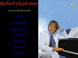 diaporama pps Richard Clayderman I