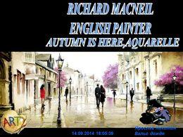 diaporama pps Richard Macneil 1958 english painter