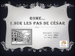 diaporama pps Rome 1 sur les pas de César