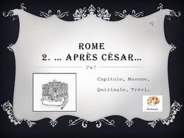 diaporama pps Rome 2 – Après César