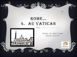 diaporama pps Rome 4 au Vatican